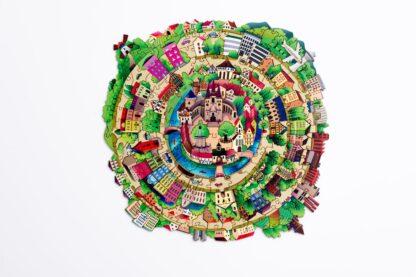 City Puzzle Holz