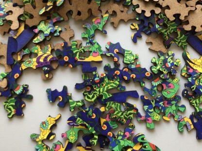 Mandala Puzzle Holz