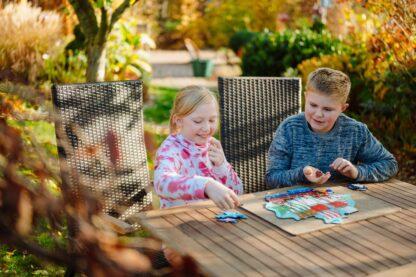 Piratenschiff Puzzle und Würfelspiel für Kinder ab 10 Jahren