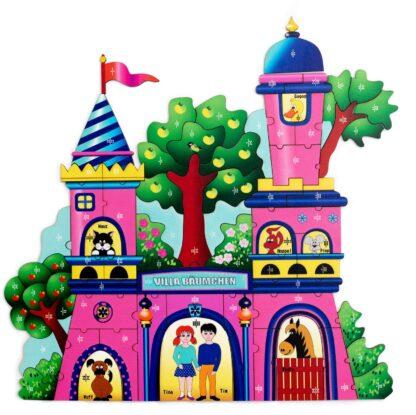 Puzzlespiel Villa Baeumchen Kinder Fragmentis