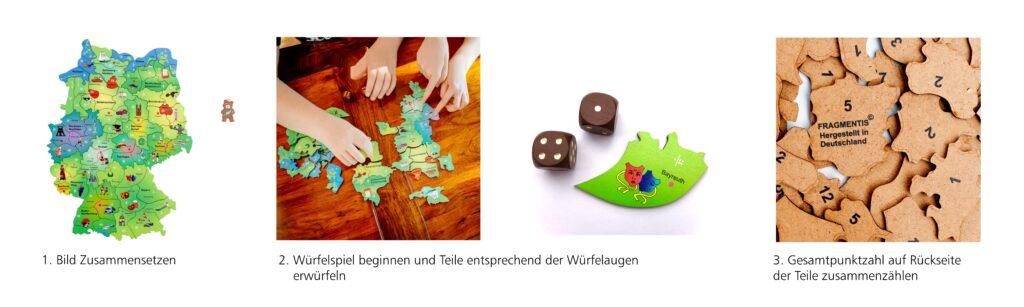Deutschlandkarte Spielanleitung Fragmentis