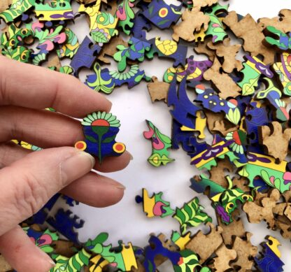 Mandala Puzzle Holz für Erwachsene 300 Teile