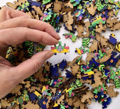 Mandala Puzzle Holz für Erwachsenen 300 Teile