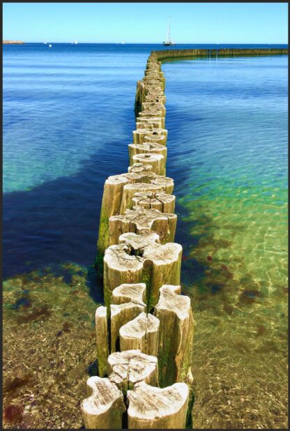 Holzpuzzle Ostsee für Erwachsene 250 Teile