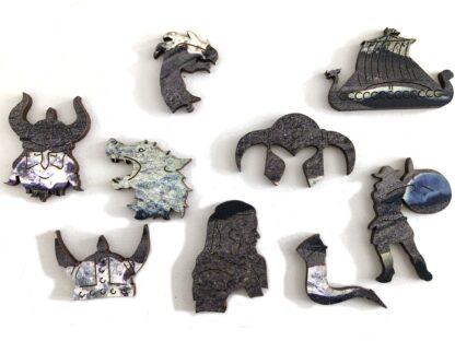 Holzpuzzle Diamantstrand Detailansicht Whimsies Shop Fragmentis