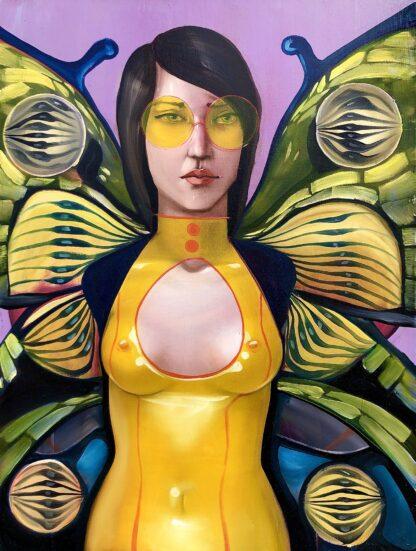 Holzpuzzle Butterfly für Erwachsene Motivbild
