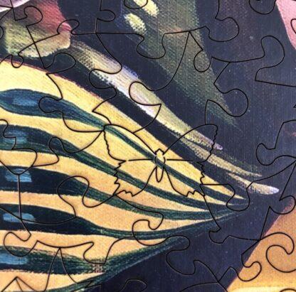 Butterfly Holzpuzzle für Erwachsene Detail Schmetterling