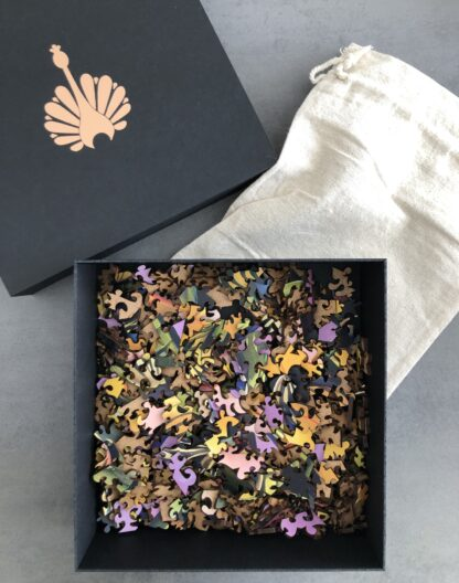 Butterfly Holzpuzzle für Erwachsene von Fragmentis mit Verpackung