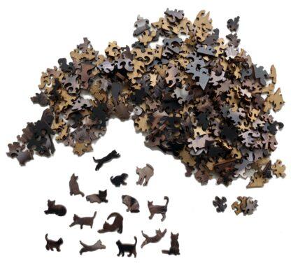Ragnar Holzpuzzle von Fragmentis einzelne Teile